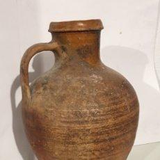 Antigüedades: ANTIGUO CÁNTARO O CANTARA DE BARRO POPULAR. Lote 140702276