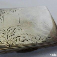 Antigüedades: POLVERA DE ALTA COLECCIÓN, EN PLATA 925 AÑOS 20 ART DECÓ, ELGIN AMERICAN. Lote 140708894