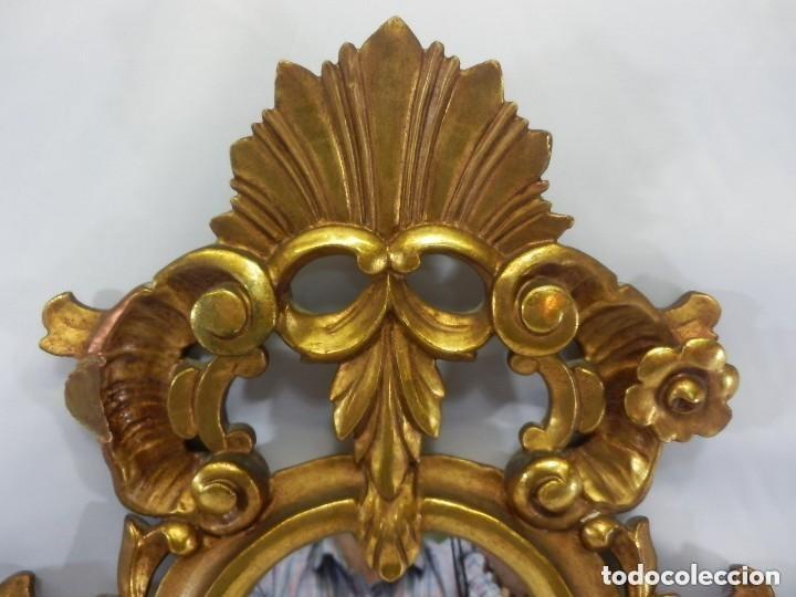 Antigüedades: Cornucopias sXVIII - Pan de oro y escenas grabadas al ácido. La Granja - Foto 4 - 140712866