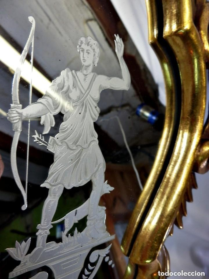 Antigüedades: Cornucopias sXVIII - Pan de oro y escenas grabadas al ácido. La Granja - Foto 7 - 140712866
