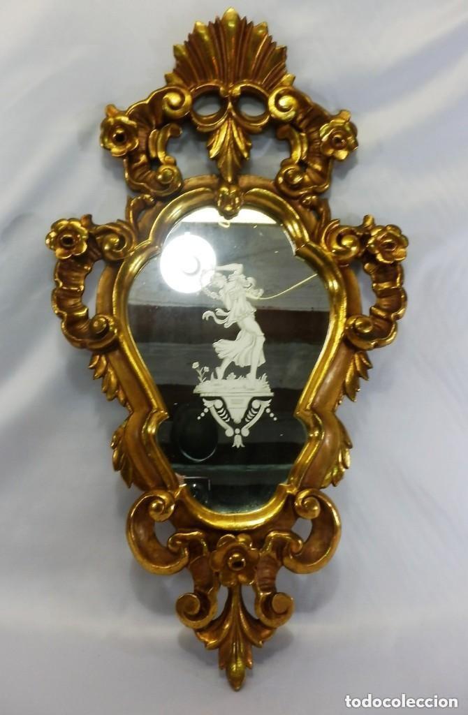 Antigüedades: Cornucopias sXVIII - Pan de oro y escenas grabadas al ácido. La Granja - Foto 15 - 140712866