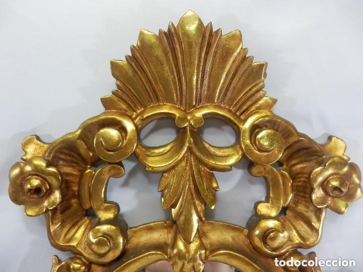 Antigüedades: Cornucopias sXVIII - Pan de oro y escenas grabadas al ácido. La Granja - Foto 16 - 140712866