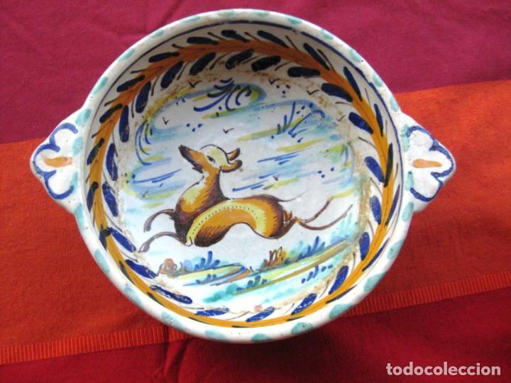 CUENCO ORIGINAL CERÁMICA TRIANA EN PERFECTO ESTADO (Antigüedades - Porcelanas y Cerámicas - Triana)