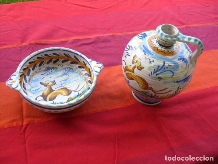 Antigüedades: CUENCO ORIGINAL CERÁMICA TRIANA EN PERFECTO ESTADO - Foto 8 - 140716974