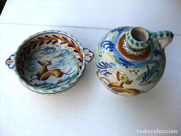 Antigüedades: CUENCO ORIGINAL CERÁMICA TRIANA EN PERFECTO ESTADO - Foto 9 - 140716974