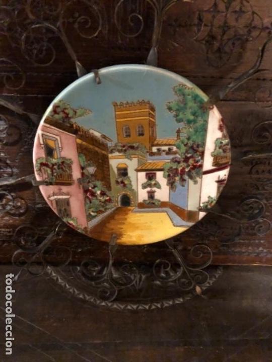 PLATO DE TRIANA (Antigüedades - Porcelanas y Cerámicas - Triana)