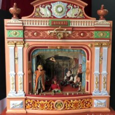 Antigüedades: IMPRESIONANTE TEATRO ANTIGUO GIGANTE EPOCA IMPERIO 1820 1840. TEATRO ROMEA, BARCELONA. . Lote 140717586