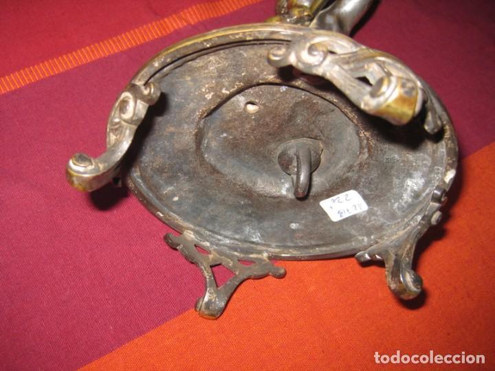 Antigüedades: QUEMADOR DE INCIENSO BAÑO DE PLATA, CASA BOULENGER, CON CONTRASTE, TAMBIÉN PARA VELÓN - Foto 9 - 140719094