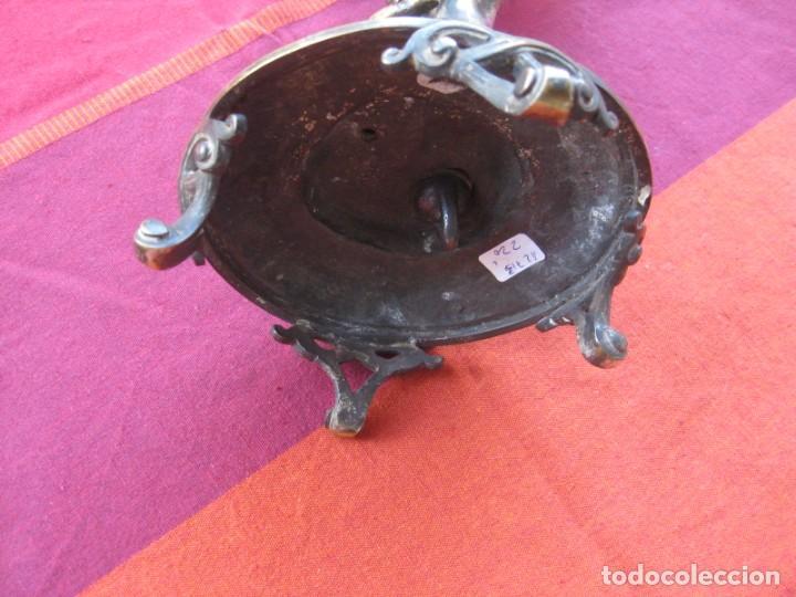 Antigüedades: QUEMADOR DE INCIENSO BAÑO DE PLATA, CASA BOULENGER, CON CONTRASTE, TAMBIÉN PARA VELÓN - Foto 10 - 140719094