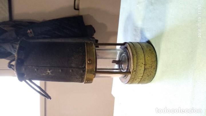 Antigüedades: Farol auténtico minero - Foto 2 - 140722674