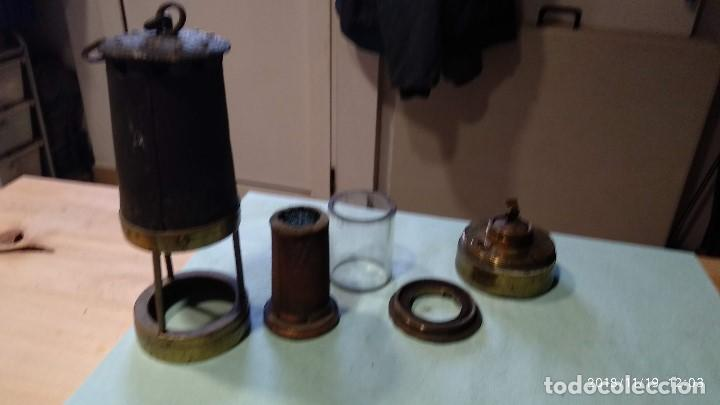 Antigüedades: Farol auténtico minero - Foto 14 - 140722674