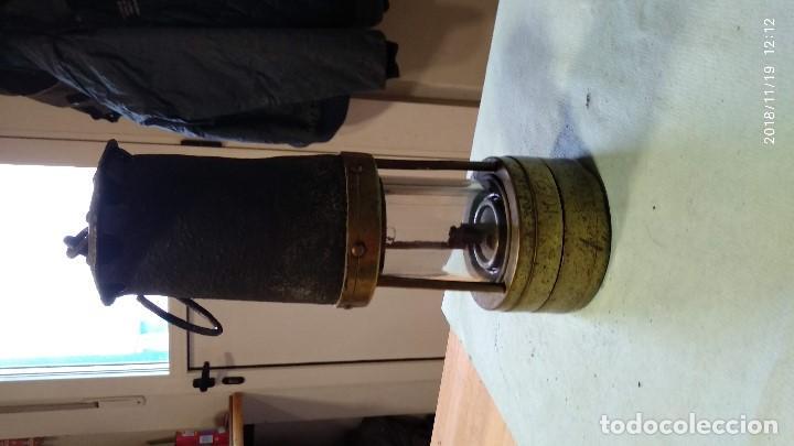 Antigüedades: Farol auténtico minero - Foto 21 - 140722674