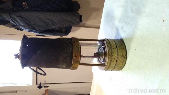 Antigüedades: Farol auténtico minero - Foto 22 - 140722674