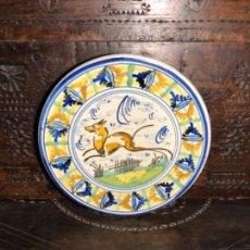 Antigüedades: PLATO DE TRIANA. Lote 140728366