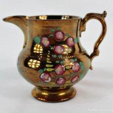 Antigüedades: JARRA DE BRISTOL JARRA DE LUSTRE INGLESA S XIX MUY ORIGINAL COLECCIONISTAS. Lote 140729906