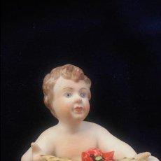 Antigüedades: QUERUBIN PORCELANA CAPODIMONTI. Lote 140743638
