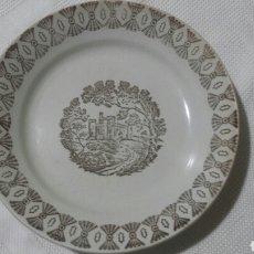 Antigüedades: 2 PLATOS LA CARTUJA DE SEVILLA. Lote 140760125