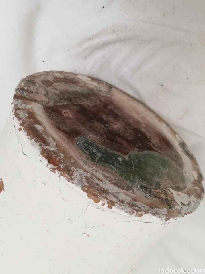 Antigüedades: ANTIGUA ORZA.TINAJA DE BARRO VIDRIADA CON CUATRO ASAS. ALTURA 57CM - Foto 11 - 140765930