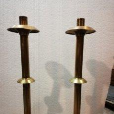 Antiquitäten - Pareja candelabros iglesia - 140766000