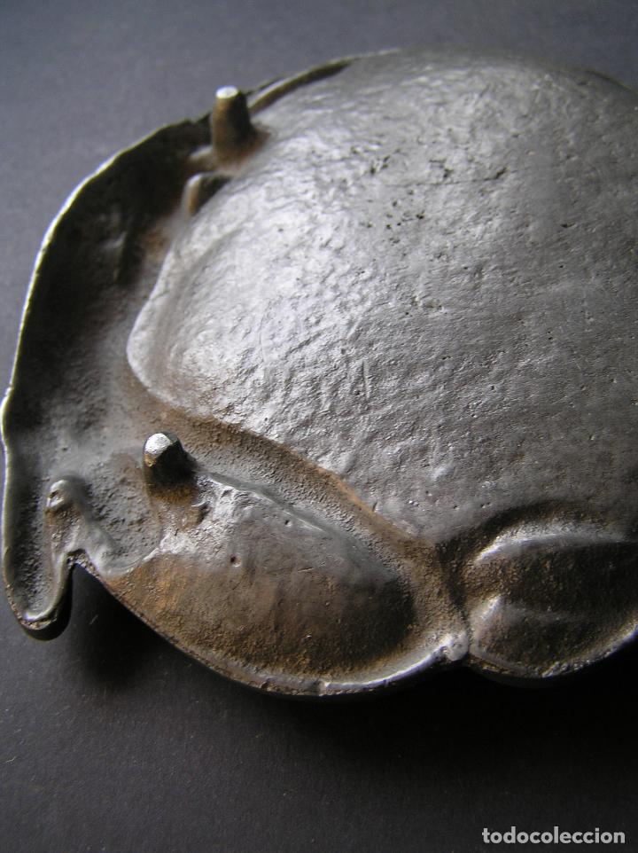 Antiquitäten: Espectacular despojador de bronce modernista.Puro estilo ART-NOUVEAU.Erótico. 1900. Peltre. - Foto 10 - 140771690