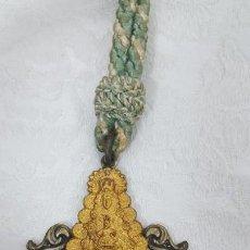 Antigüedades: MEDALLA COLGANTE VIRGEN DEL ROCIO. Lote 146683565