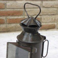 Antigüedades: FAROL ANTIGUO DE JEFE DE ESTACION - FERROCARRIL - TREN - VALLADOLID.. Lote 140778618