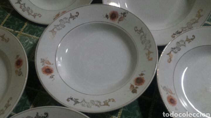 7 PLATOS SAN CLAUDIO (Antigüedades - Porcelanas y Cerámicas - San Claudio)