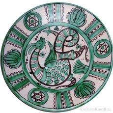 Antigüedades: PLATO CERÁMICA TERUEL, HNOS.GORRIZ. Lote 140783078
