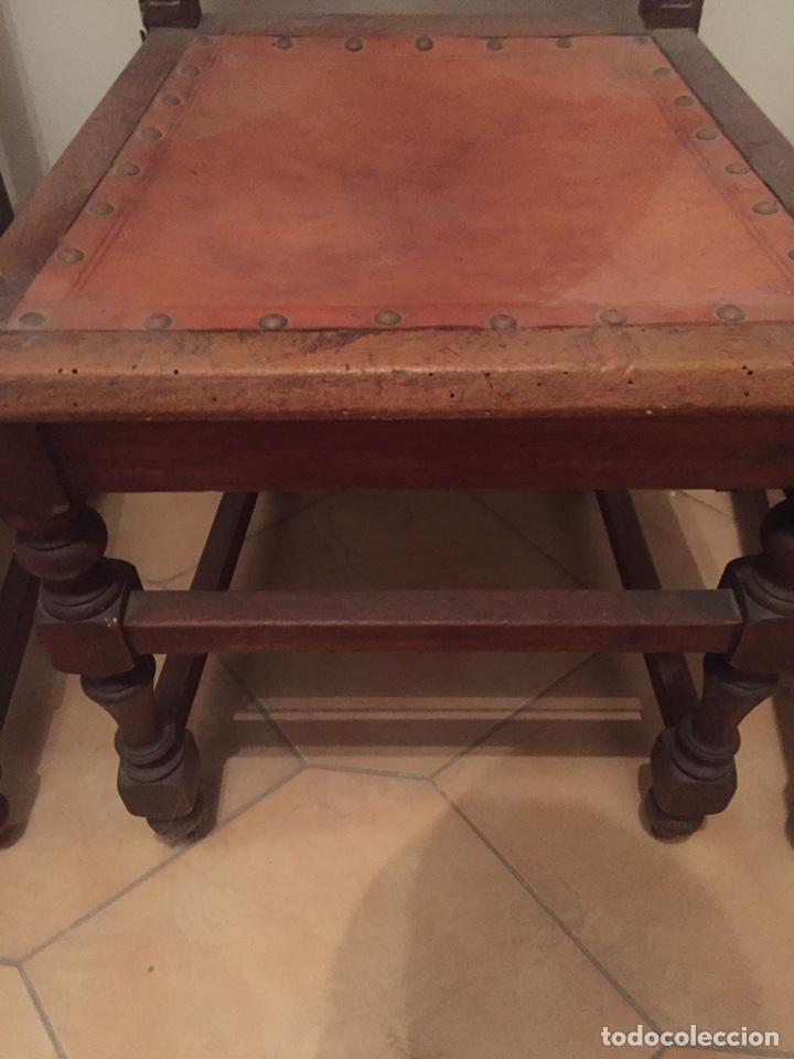 Antigüedades: 3 antiguas sillas mallorquinas - Foto 5 - 140796260