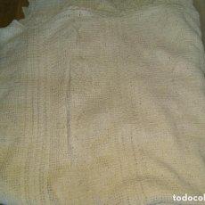 Antigüedades: ANTIGUA COLCHA GANCHILLO ALGODON 240X220. Lote 140814322