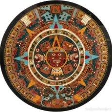 Antigüedades - CALENDARIO AZTECA - 140816470