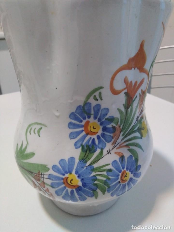 Antigüedades: Lario, bonita y antigua jarra - Foto 2 - 140818938