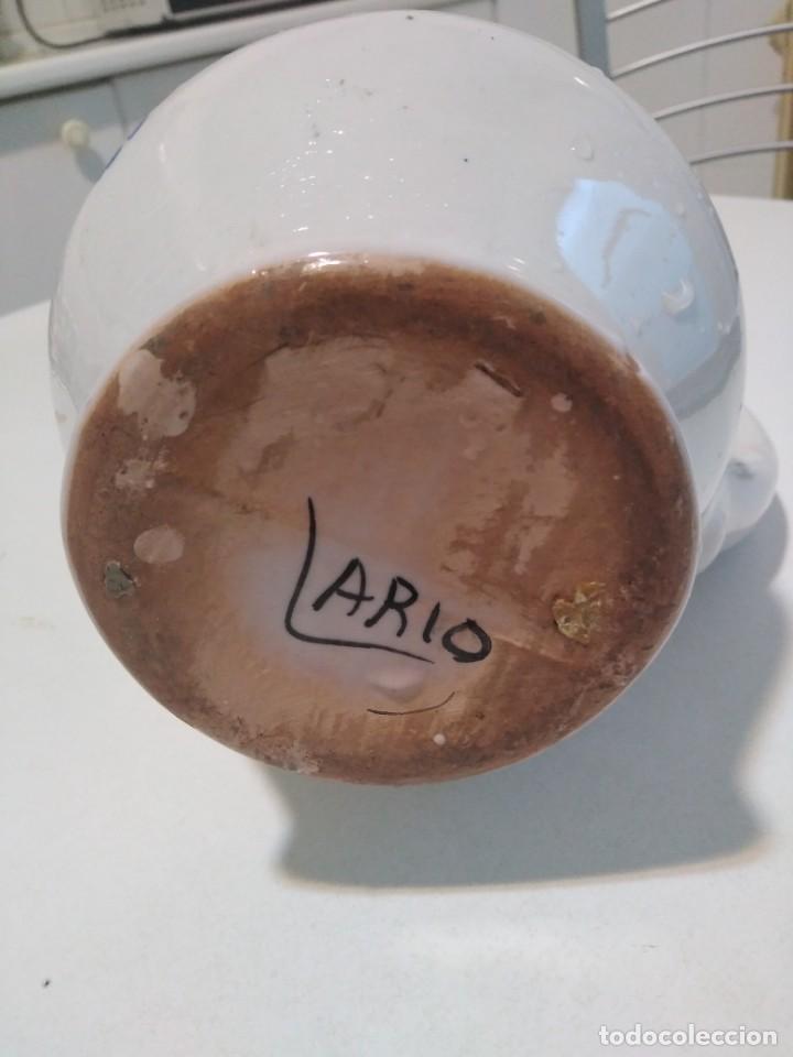 Antigüedades: Lario, bonita y antigua jarra - Foto 5 - 140818938