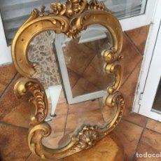 Antigüedades: ESPEJO DE ÉPOCA , SIGLO XVIII - XIX TODO ORIGINAL. Lote 140832962