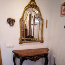 Antigüedades: MUEBLE RECIBIDOR. Lote 140836798