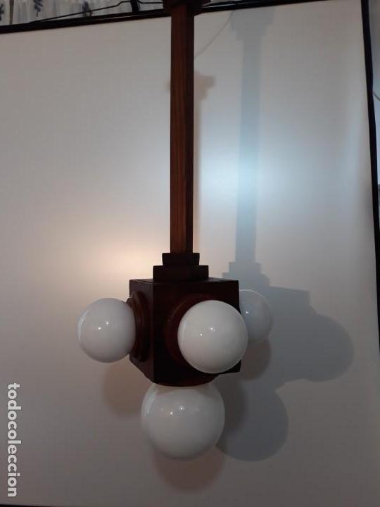 LÁMPARA ART DECO (Antigüedades - Iluminación - Lámparas Antiguas)