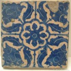 Antigüedades: AZULEJO DE MOSTRA. Lote 140872510