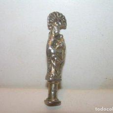 Antigüedades: ANTIGUA MEDALLA - RELICARIO DE PLATA...RELIQUIA EN LA BASE...VER FOTOS.. Lote 140874374