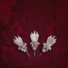 Antigüedades: JUEGO DE POTENCIAS - PAN DE ORO -. Lote 143999385