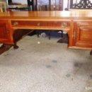 Antigüedades: PRECIOSA GRAN MESA DE DESPACHO ISABELINA. Lote 140885954