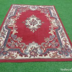 Antiques - Bonita Alfombra de lana con motivos florales - 140888254