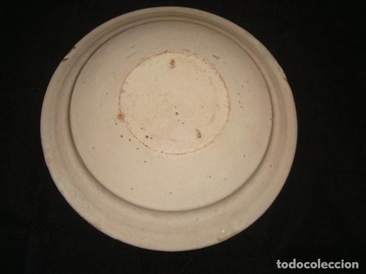 Antigüedades: PLATO CUENCO RÚSTICO DE CERAMICA VIDRIADA - Foto 8 - 140899142