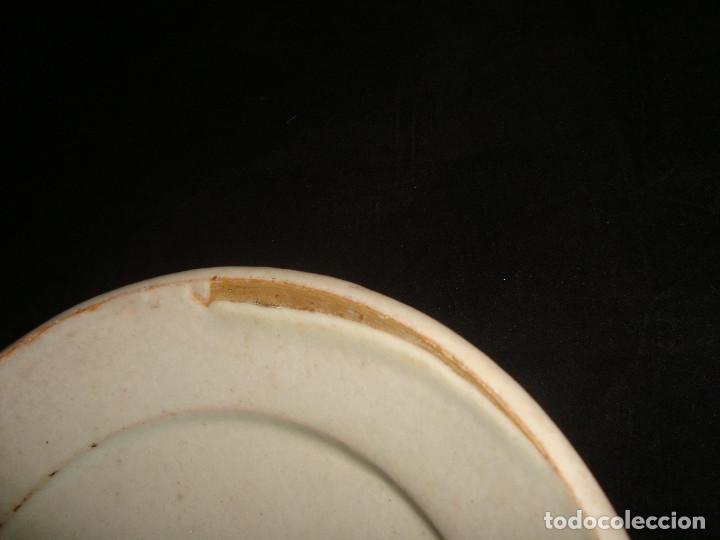 Antigüedades: PLATO CUENCO RÚSTICO DE CERAMICA VIDRIADA - Foto 10 - 140899142