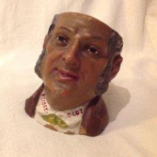 Antigüedades: TABAQUERA EN CERÀMICA, Y. BUXÒ, OLOT PPS. S. XX. Lote 140907378