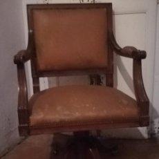 Antigüedades: ANTIGUA BUTACA DE ESCRITORIO. Lote 140912138
