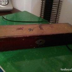 Antigüedades: CAJA MADERA CHINA PRINCIPIOS SIGLO XX. Lote 140930486
