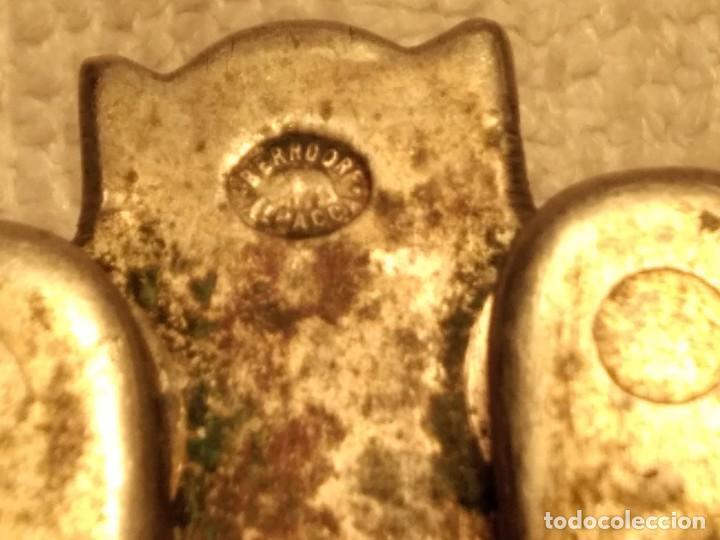 Antigüedades: 2 Rompenueces antiguos marca (BERNDORF) ALPACCA. Artículo muy vintage. - Foto 11 - 140931026