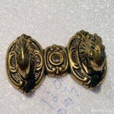 Antigüedades: ANTIGUO COLGADOR DOBLE. Lote 140973534