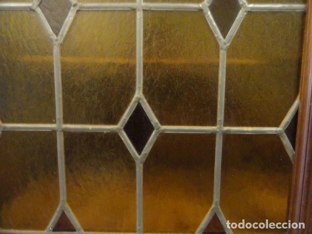 Antigüedades: MUEBLE MODERNISTA ESCRITORIO NOGAL - Foto 11 - 140986322