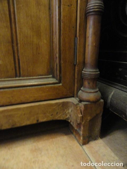 Antigüedades: MUEBLE MODERNISTA ESCRITORIO NOGAL - Foto 33 - 140986322